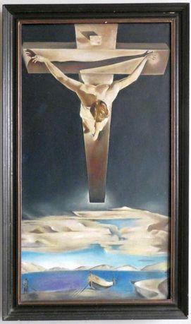 Obraz Salvador Dali - Chrystus Świętego Jana od Krzyża (48,5 x 86)