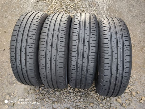 165/65r14 Continental ContiEcoContact5 KOMPLET lato STAN IDEALNY