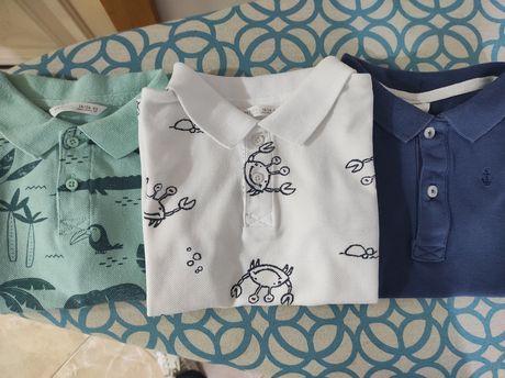Polos/ t-shirts 2 anos