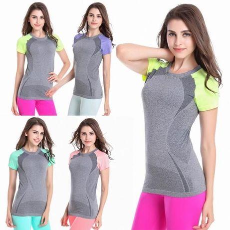 Спортивная футболка для тренировок с текстурной вязкой рукава