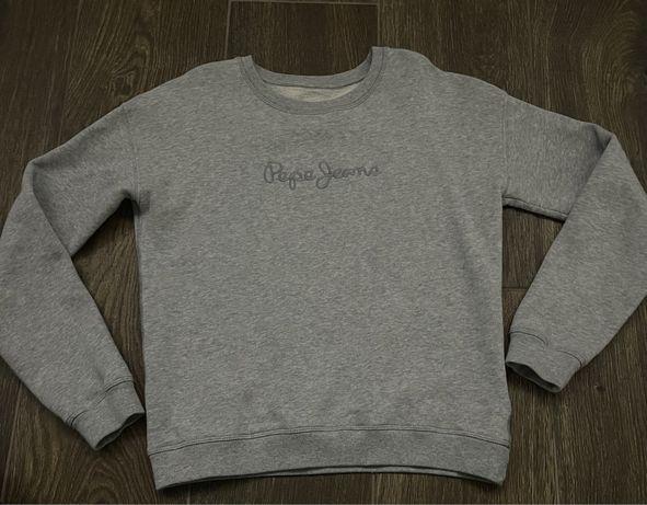 Pepe Jeans szara bluza 152 Ideał!