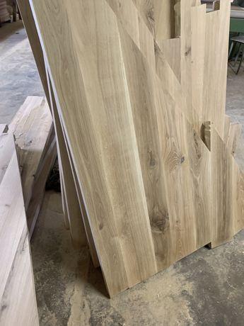 Stopnie drewniane dab jesion
