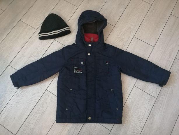 Весенняя курточка 110 см на мальчика и Шапка в ПОДАРОК