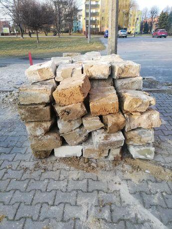 Bloczki betonowe z demontażu