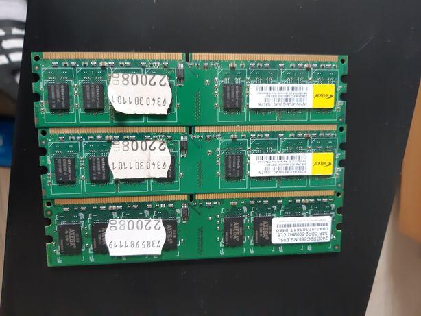 Pamięć RAM DDR2/3x 2GB