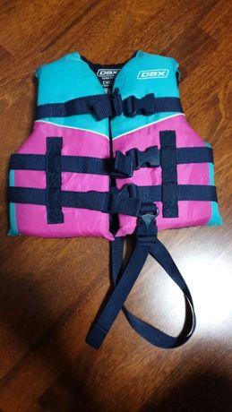 Kamizelka ratunkowa Z ATESTEM dziecięca dziewczęca Kapok DBX Vest