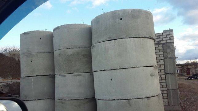 Изготовление выгребных ям.монтаж фундаментов и иные строительные работ