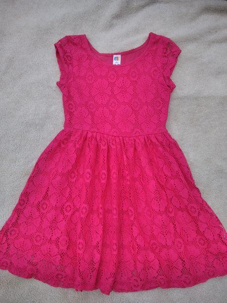 Платье яркое 7_8 лет