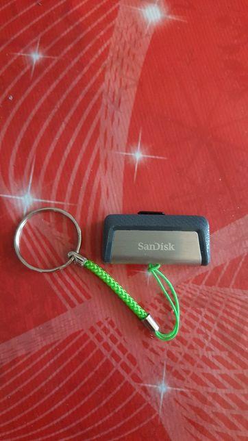 Pamięć pendrive dual 64GB USB/USB typ C 150MB/s nie używana