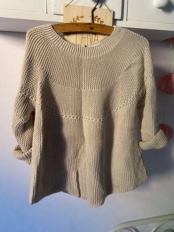 Sweter zara bezowy
