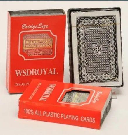Игровые пластиковые карты для покера / пластик опт новые игра