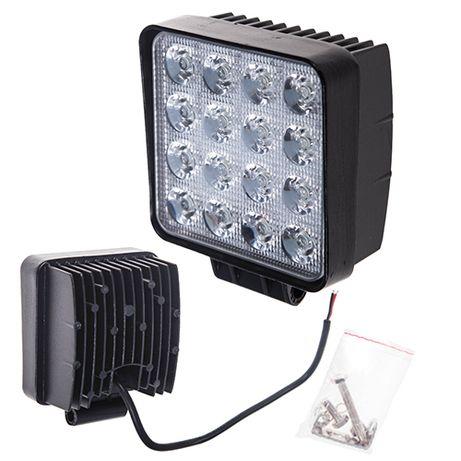 Фара прожектор LML-K1748 SPOT (16led*3w) 105mm*105mm (K1748 S)