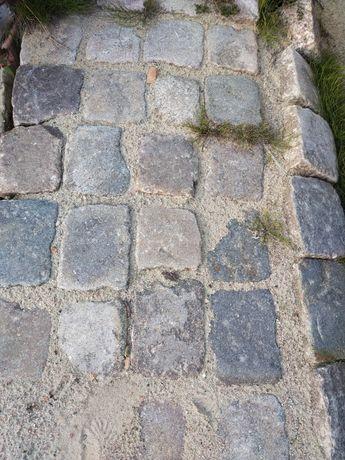 Starobruk kostka granitowa około 20x17