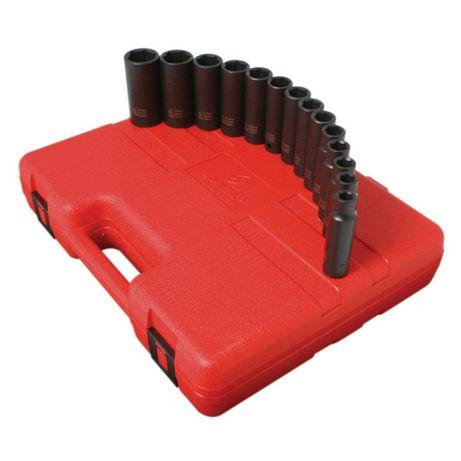 Набор ударных головок Sunex 2653 1/2 Impact Метрические для DCF899