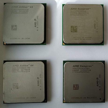 AMD Athlon 64 3500+ / 3200+ , AMD Sempron LE-1150 / 2500+