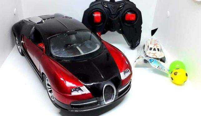 Нов машинка игрушка на радиоуправлении Bugatti Veyron на аккумуляторе