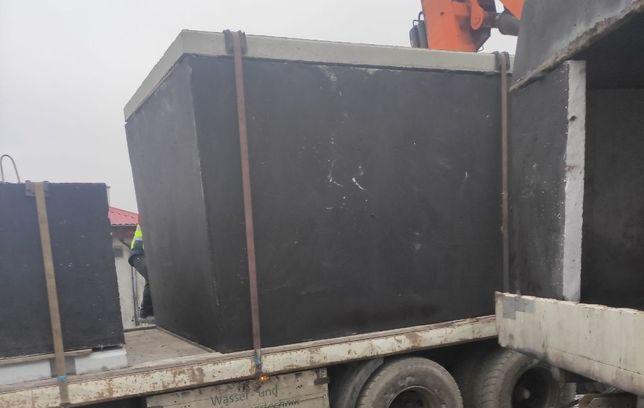 Zbiornik betonowy na gnojowicę szambo deszczówkę szamba 12 kubików m3