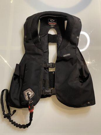 Colete airbag de equitação