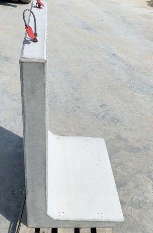 """Mur oporowy typu """"L"""", ściana oporowa"""