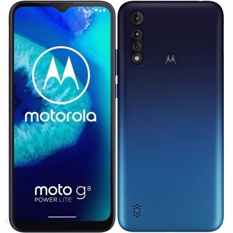 SPRZEDAM Motorola Moto G8 Power Lite 4/64GB Royal Blue