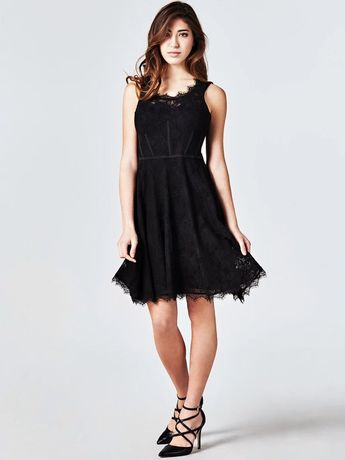 Кружевное платье Guess Shaira Lace Dress