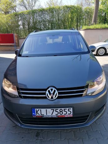 VW sharan 7osobowy 2012 dsg automat 2.0