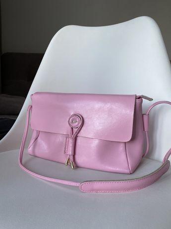 Розовая мини сумочка с Miraton
