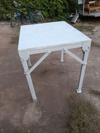 Porządny stół warsztatowy składany (solidny)