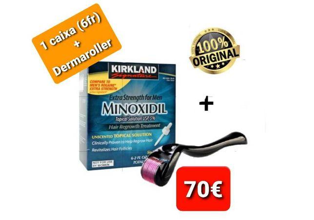 Minoxidil Kirkland + Dermaroller