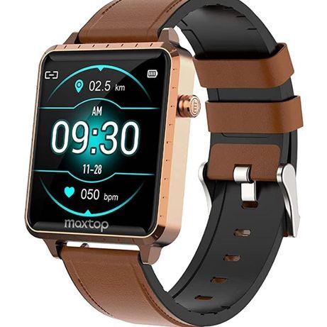 Relógio inteligente com monitor de frequência cardíaca. Smartwatch