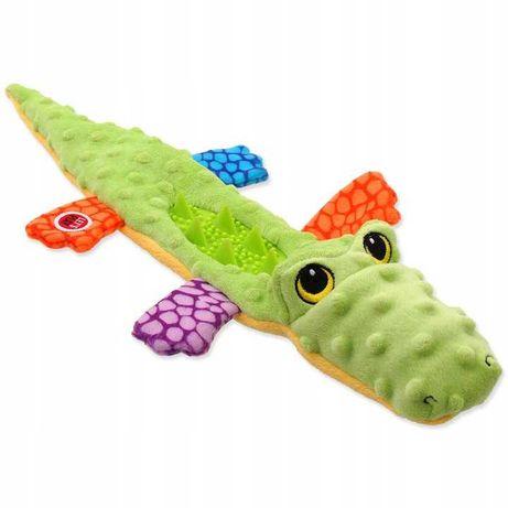 Zabawka dla psa SZELESZCZĄCA PISZCZĄCA Jaszczurka 45cm!!! KOLORY