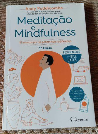 Livro Meditação e Mindfulness
