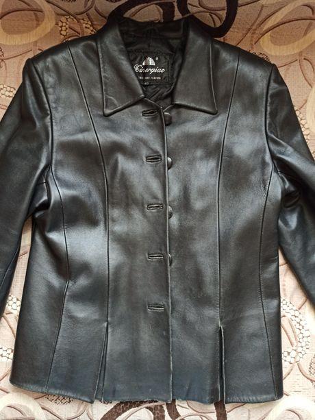 Натуральна шкіра куртка весняна кожа весна натуральная
