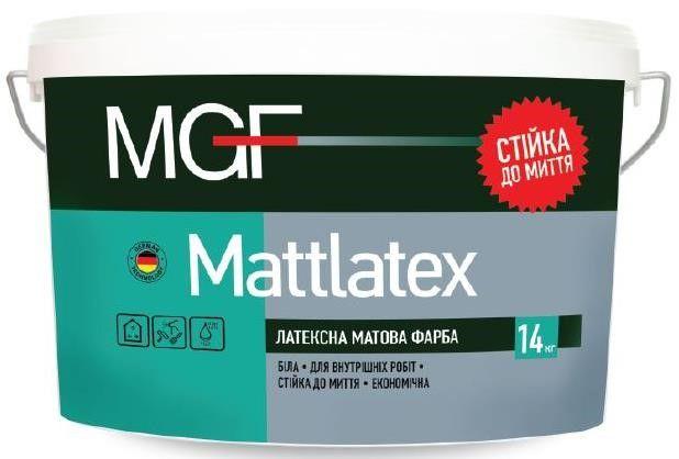 Фарба MGF М100 / М1А / ECO WEISS М1 для внутрішніх робіт