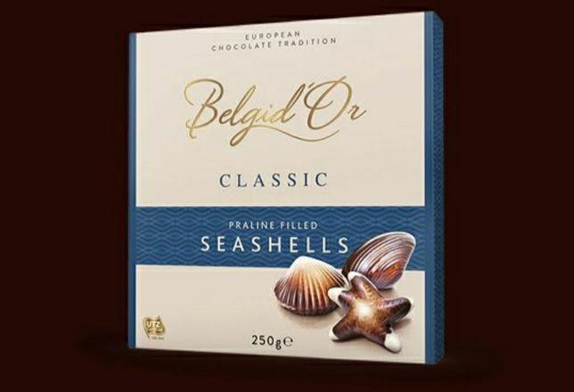 Конфеты Belgid'Or Classic Seashells Praline (250 Г)