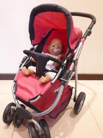Wózek dla lalek 2w1 spacerowka + gondola