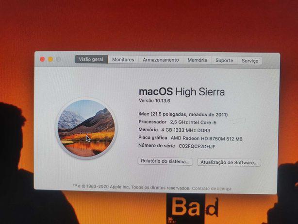 IMac 21.5 i5 2011