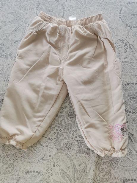 Spodnie ciepłe