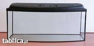 AKWARIUM profilowane + pokrywa 80x35x50 140 Litrów