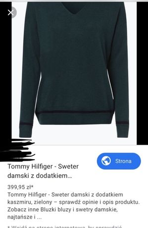 Sweter Tommy Hilfiger xs/s_aktualna_kolekcja