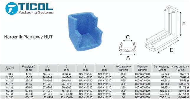 Narożniki Piankowe - Ticol Packaging Systems
