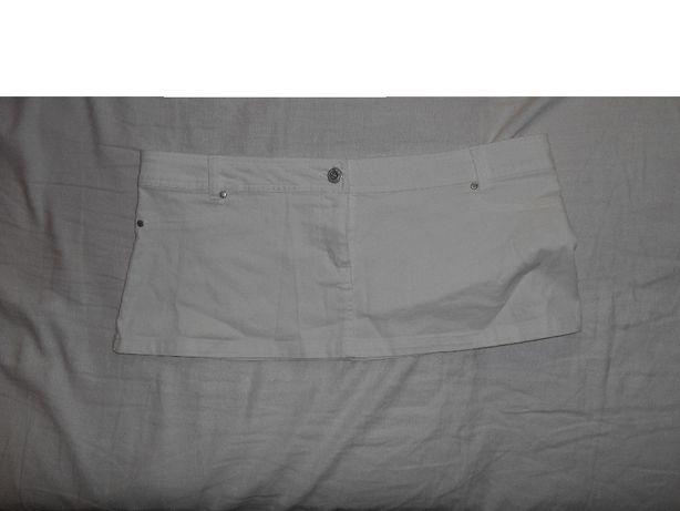 Biała Miniówka XL, L
