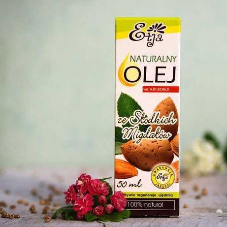 Olej ze Słodkich Migdałów BIO Etja 50 ml.