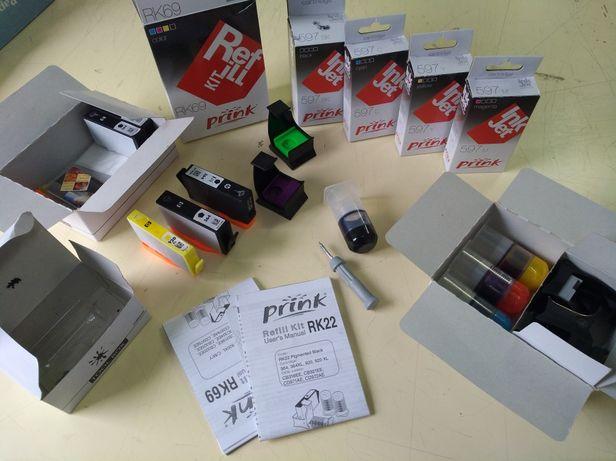 Tinteiros Hp 920 xl compatíveis e kit de recarga