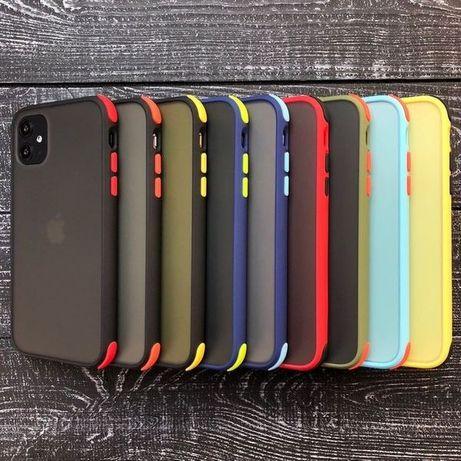 Противоударный чехол LikGus Iphone 7 s 8 Plus X XR Xs Max 11 Pro 12