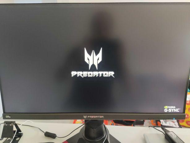 "Monitor Acer Predator XB271HU bmiprz IPS 27"" QHD 16:9 165Hz G-SYNC"