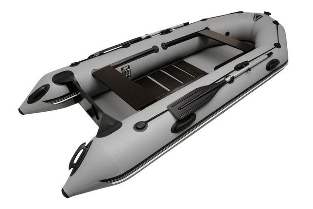 Надувная ПВХ лодка Vulkan VM325 моторная трехместная