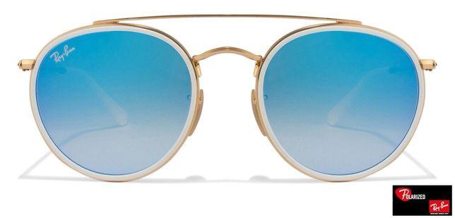 Ray ban 3647 azul round rayban oculos sol erika chris justin
