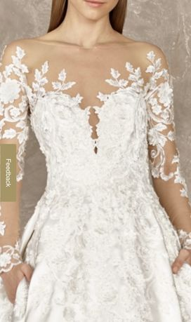 Vestido de noiva Pronovias novo