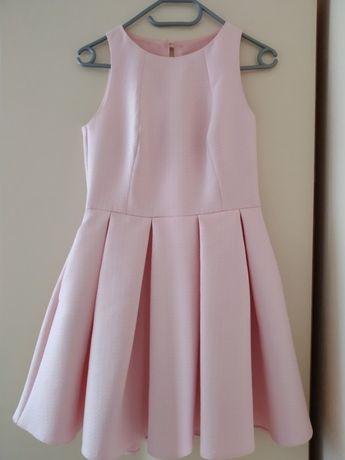 Piękna sukienka pudrowy róż